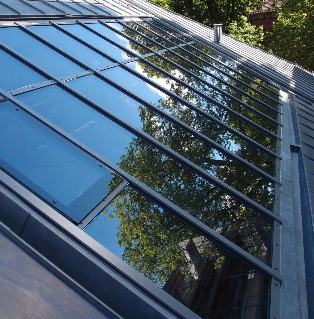Dachflächenfenster, Humboldt-Universität Berlin