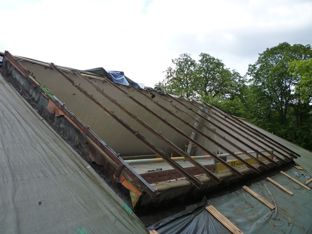 Dachfensteranlage, Gerlachbau