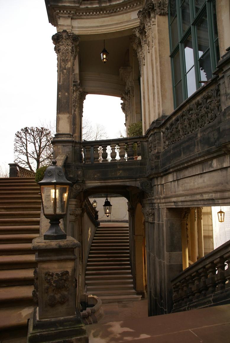 Laternen, Zwinger Dresden