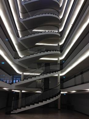 Gesamtansicht Treppe: Endzustand