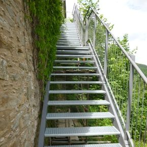 Treppe, Burg Scharfenstein