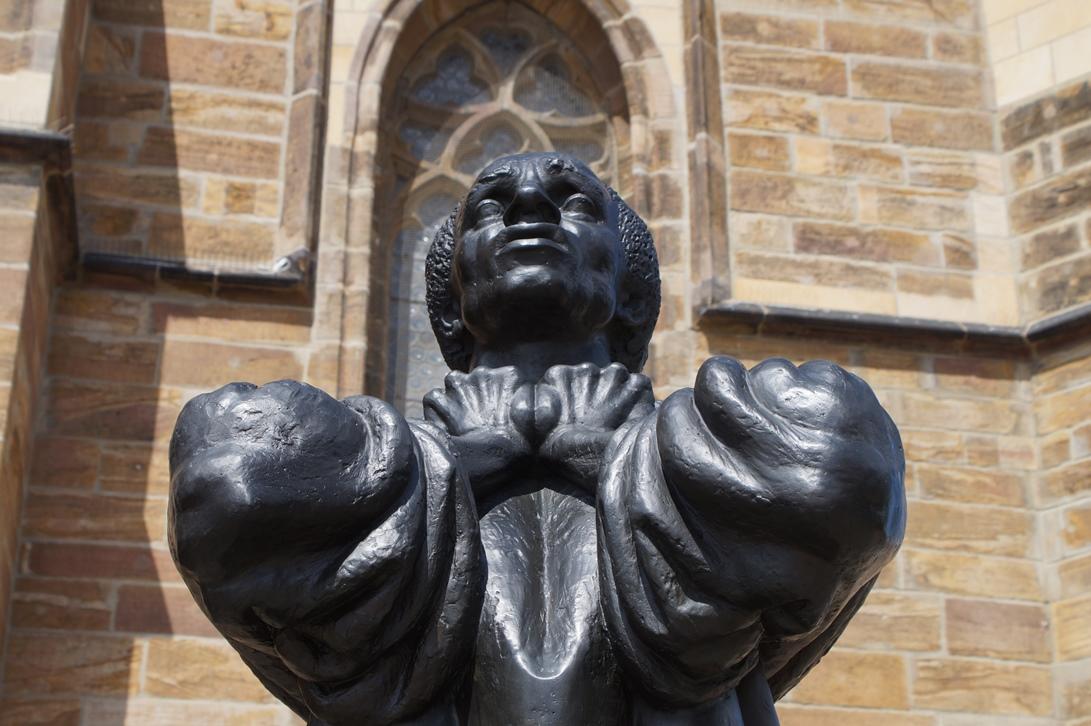 Bronzedenkmal Thomas Müntzer, Zwickau
