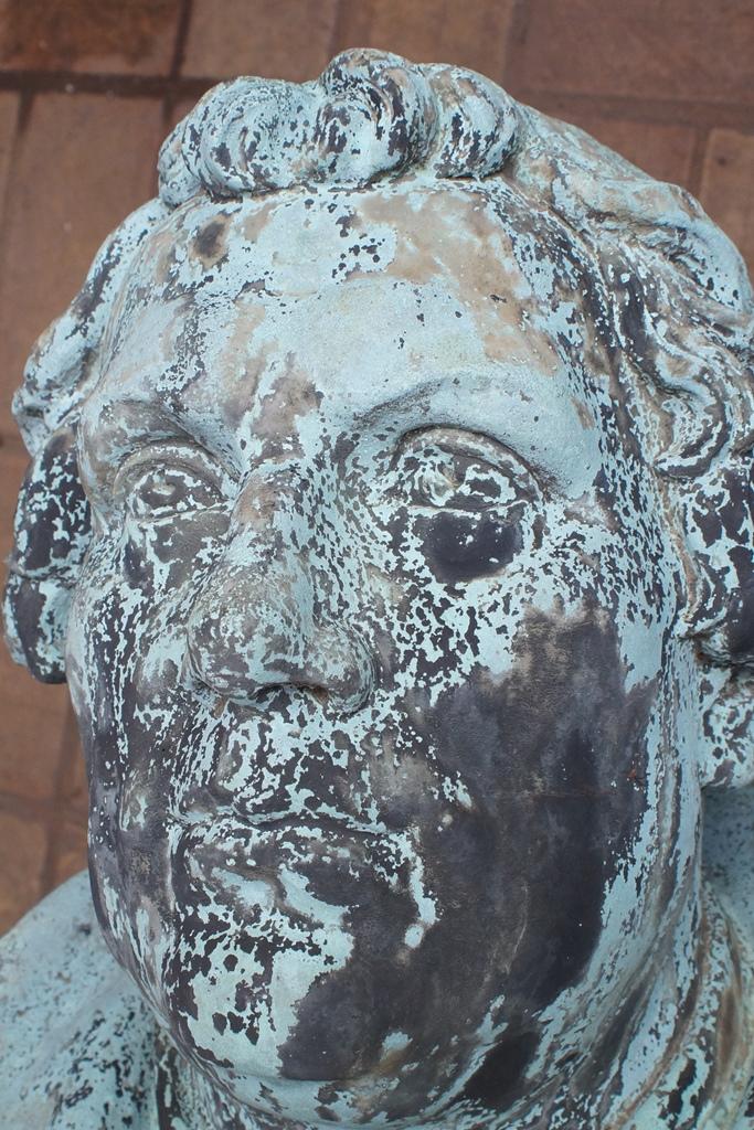 Detailansicht Kopf: Zustand nach der Reinigung