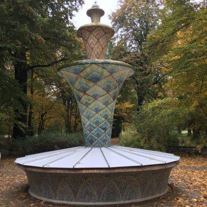 Mosaikbrunnen, Dresden
