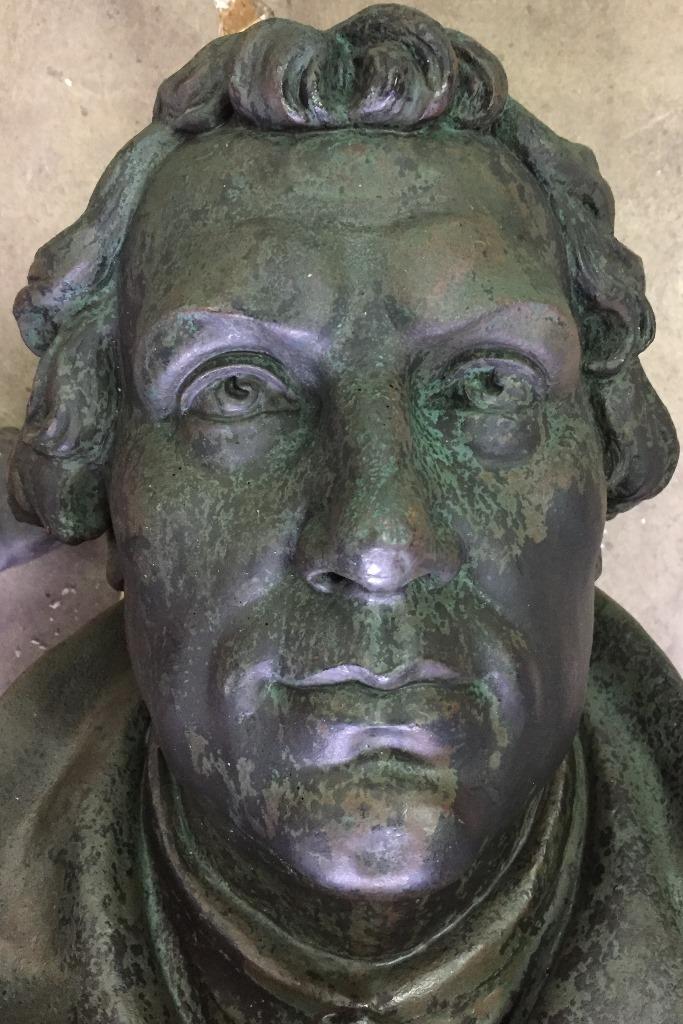 Detailansicht Kopf: Zustand nach der Konservierung