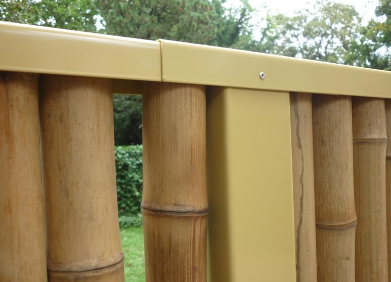 Bambuszaun, Gesamtansicht
