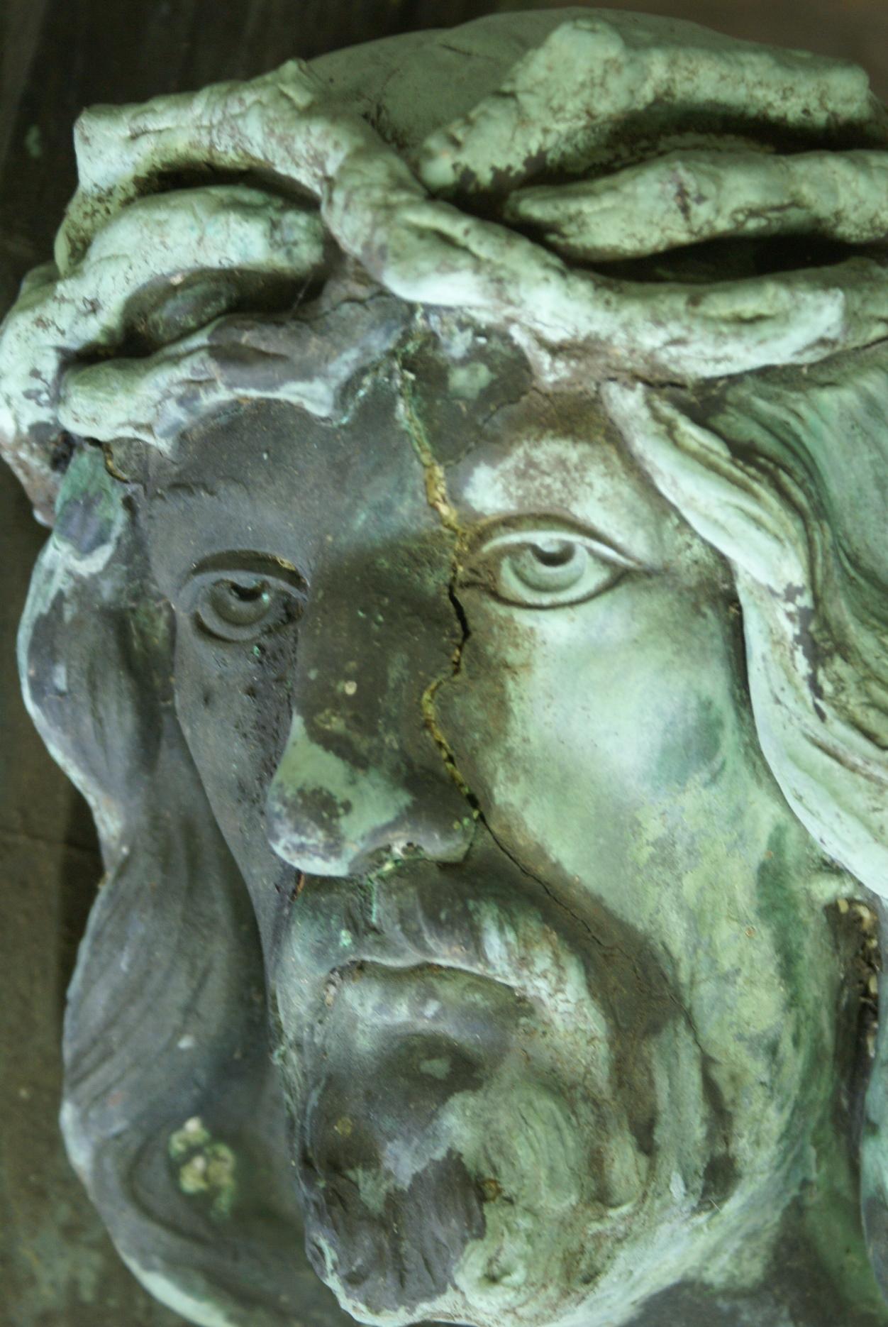 Detailansicht Kopf: Vorzustand