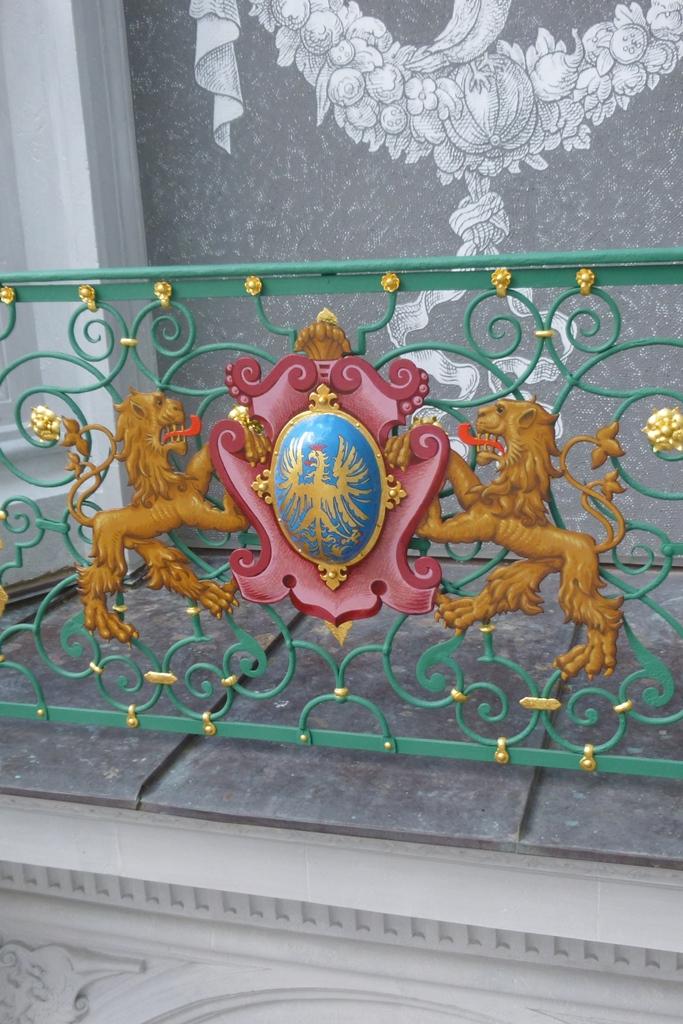 Detailansicht Wappen: Endzustand