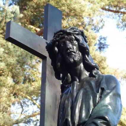 Kreuztragender Christus, Friedhof Plauen