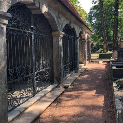 Grufthausgitter, Eliasfriedhof Dresden