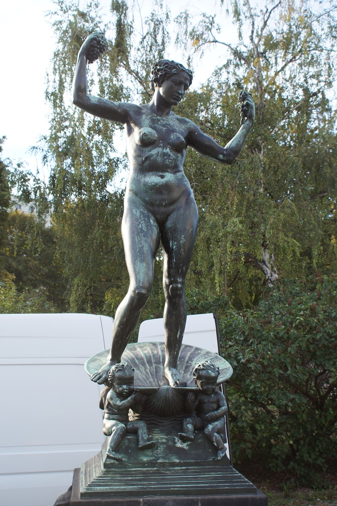 Marie-Gey-Brunnen, Dresden: Vorzustand