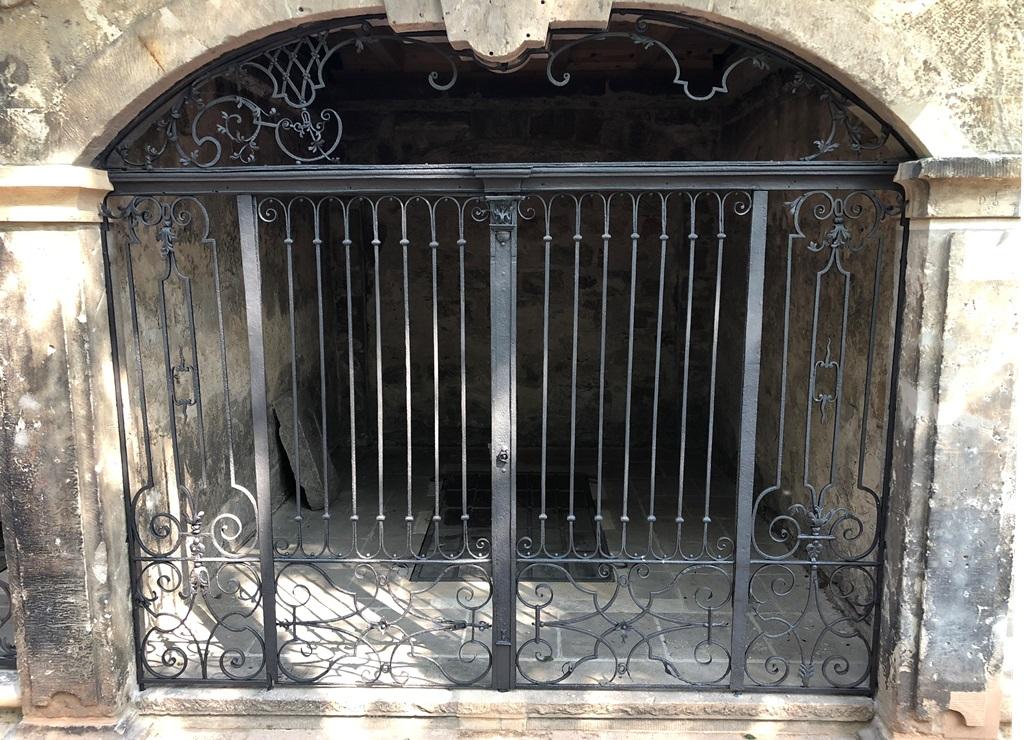 Grufthaus 39, Gitteranlage: Endzustand