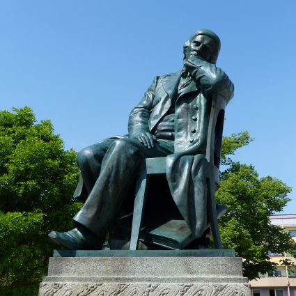 Robert Schumann Denkmal, Zwickau