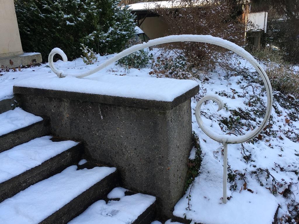 Privathaus Dresden, Handlauf: Vorzustand