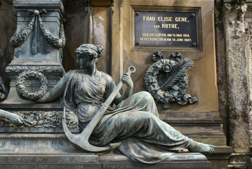 Bronzefigur: Vorzustand