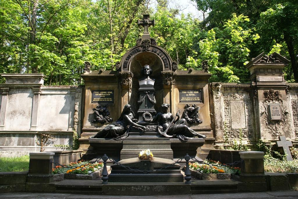 Gehe-Grabmal, St. Pauli Friedhof, Dresden: Endzustand nach der Restaurierung