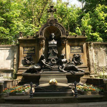 Gehe-Grabmal, St. Pauli Friedhof Dresden