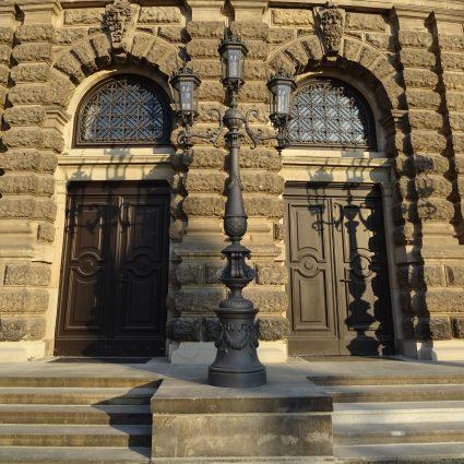Kandelaber, Staatsoper Dresden