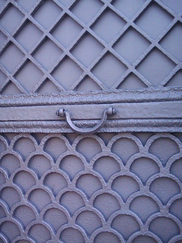 Detailansicht Tür: Endzustand