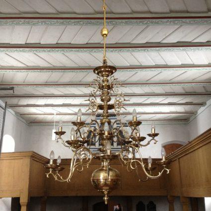 Kronleuchter, Kirche Lieskau