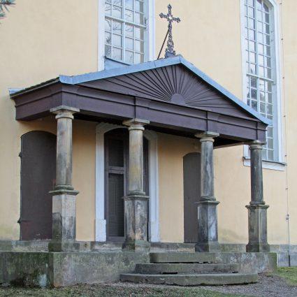 Giebelkreuz, Kirche Herzogswalde