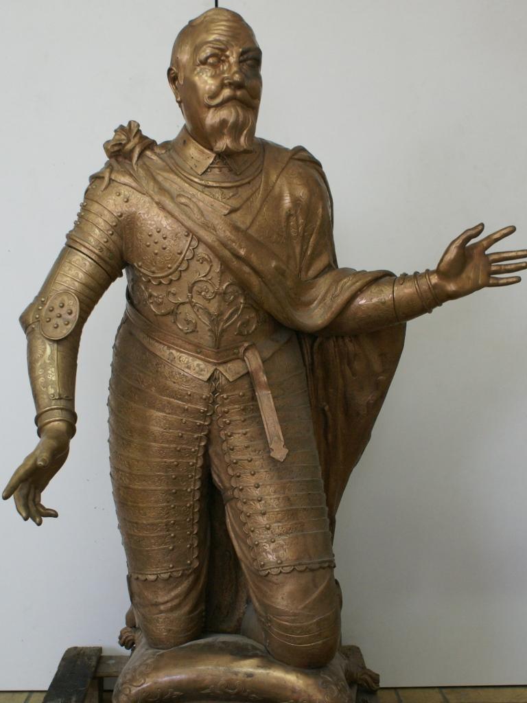 Bronzefigur Johann Georg I.: Vorzustand