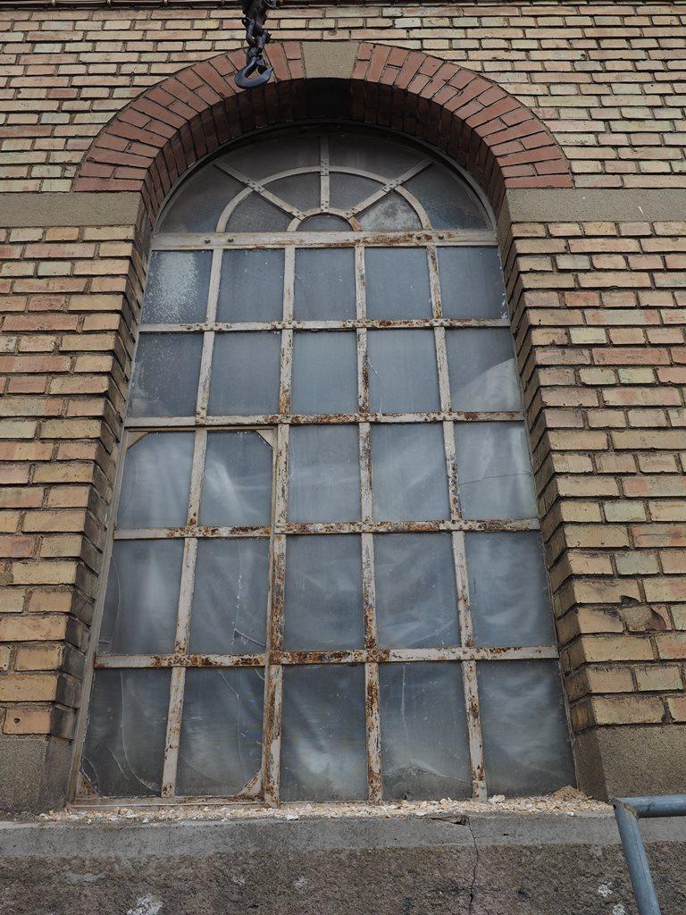 Grünbaum Brauerei Aalen, Historische Stahlfenster: Vorzustand